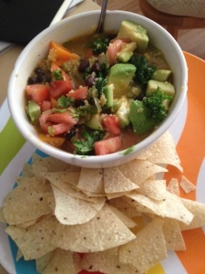 Black Bean, Sweet Potato and Red Quinoa Soup | An American Girl in ...